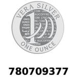 Réf. 780709377 Vera Silver 1 once (LSP)  2018 - REVERS