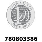 Réf. 780803386 Vera Silver 1 once (LSP)  2018 - REVERS