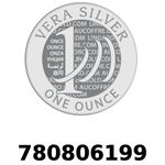 Réf. 780806199 Vera Silver 1 once (LSP)  2018 - REVERS