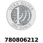 Réf. 780806212 Vera Silver 1 once (LSP)  2018 - REVERS