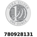 Réf. 780928131 Vera Silver 1 once (LSP)  2018 - REVERS