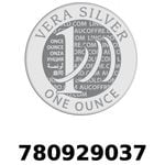 Réf. 780929037 Vera Silver 1 once (LSP)  2018 - REVERS