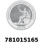 Réf. 781015165 Vera Silver 1 once (LSP)  2018 - REVERS