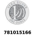 Réf. 781015166 Vera Silver 1 once (LSP)  2018 - REVERS