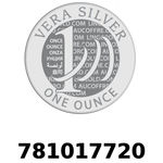 Réf. 781017720 Vera Silver 1 once (LSP)  2018 - REVERS