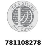 Réf. 781108278 Vera Silver 1 once (LSP - 40MM)  2018 - REVERS