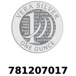 Réf. 781207017 Vera Silver 1 once (LSP)  2018 - REVERS