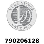 Réf. 790206128 Vera Silver 1 once (LSP)  2018 - REVERS