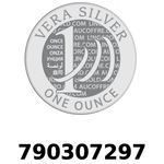 Réf. 790307297 Vera Silver 1 once (LSP)  2018 - REVERS