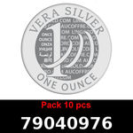 Réf. 79040976 Lot 10 Vera Silver 1 once (LSP)  2018 - REVERS