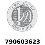 Réf. 790603623 Vera Silver 1 once (LSP - 40MM)  2018 - REVERS