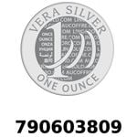 Réf. 790603809 Vera Silver 1 once (LSP - 40MM)  2018 - REVERS