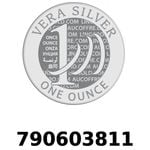 Réf. 790603811 Vera Silver 1 once (LSP - 40MM)  2018 - REVERS