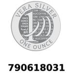 Réf. 790618031 Vera Silver 1 once (LSP - 40MM)  2018 - REVERS