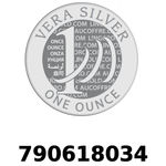 Réf. 790618034 Vera Silver 1 once (LSP - 40MM)  2018 - REVERS