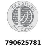 Réf. 790625781 Vera Silver 1 once (LSP - 40MM)  2018 - REVERS