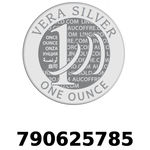 Réf. 790625785 Vera Silver 1 once (LSP - 40MM)  2018 - REVERS