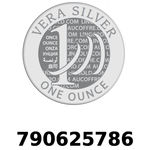 Réf. 790625786 Vera Silver 1 once (LSP - 40MM)  2018 - REVERS