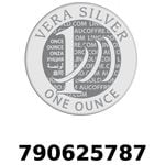 Réf. 790625787 Vera Silver 1 once (LSP - 40MM)  2018 - REVERS