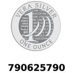 Réf. 790625790 Vera Silver 1 once (LSP - 40MM)  2018 - REVERS