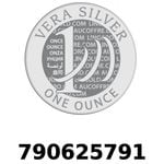 Réf. 790625791 Vera Silver 1 once (LSP - 40MM)  2018 - REVERS
