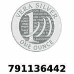 Vera Silver 1 once (LSP - 40MM)  2018