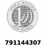 Réf. 791144307 Vera Silver 1 once (LSP - 40MM)  2018 - REVERS