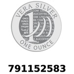Réf. 791152583 Vera Silver 1 once (LSP - 40MM)  2018 - REVERS