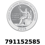 Réf. 791152585 Vera Silver 1 once (LSP - 40MM)  2018 - REVERS