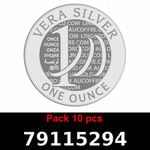 Lot 10 Vera Silver 1 once (LSP - 40MM)  2018