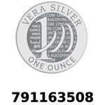 Réf. 791163508 Vera Silver 1 once (LSP - 40MM)  2018 - REVERS
