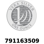 Réf. 791163509 Vera Silver 1 once (LSP - 40MM)  2018 - REVERS