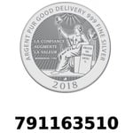 Réf. 791163510 Vera Silver 1 once (LSP - 40MM)  2018 - REVERS