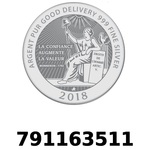 Réf. 791163511 Vera Silver 1 once (LSP - 40MM)  2018 - REVERS