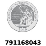 Réf. 791168043 Vera Silver 1 once (LSP - 40MM)  2018 - REVERS
