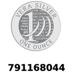 Réf. 791168044 Vera Silver 1 once (LSP - 40MM)  2018 - REVERS