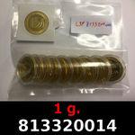 Réf. 813320014 1 gramme d\'or pur - Vera Valor (LSP)  Issu d un lot de 10 Vera Valor 1 once - REVERS