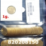 1 gramme d'or pur - Demi-Napoléon (LSP) 10 Francs Issu d un lot de 100 Mariannes Coq
