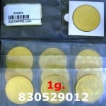 Réf. 830529012 1 gramme d\'or pur - Britannia (LSP)  Issu d un lot de 10 Britannia 1 once 9999 - REVERS