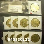Réf. 840130132 1 gramme d\'or pur - Britannia (LSP)  Issu d un lot de 10 Britannia 1 once 9999 - REVERS
