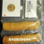 1 gramme d'or pur - Souverain (LSP)  Issu d un lot de 100 Elizabeth II