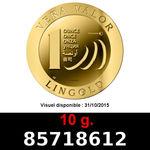 Réf. 85718612 10 grammes d\'or pur - Vera Valor (LSP)  Issu d un lot de 10 Vera Valor 1 once - REVERS