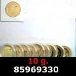 Réf. 85969330 10 grammes d\'or pur - Vera Valor (LSP)  Issu d un lot de 10 Vera Valor 1 once - REVERS
