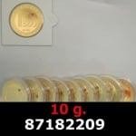 Réf. 87182209 10 grammes d\'or pur - Vera Valor (LSP)  Issu d un lot de 10 Vera Valor 1 once - REVERS