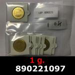 1 gramme d'or pur - Vera Valor (LSP)  Issu d un lot de 10 Vera Valor 1 once