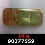Réf. 90377559 10 grammes d\'or pur (LSP)  Issu d un lingot good delivery de 1 kilo - REVERS