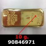 10 grammes d'or pur (LSP)  Issu d un lingot good delivery de 1 kilo