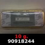 Réf. 90918244 10 grammes d\'or pur (LSP)  Issu d un lingot good delivery de 1 kilo - REVERS