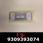 Réf. 9309393074 1 gramme d\'or pur (Lingot LSP)  Issu d un lingot good delivery de 1 kilo - REVERS