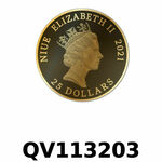 Vera Valor 1/4 once (Cours Légal - LSP)  Elizabeth II - Niue